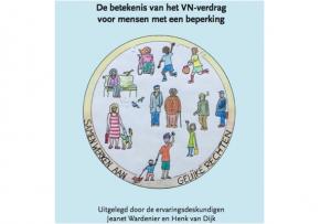 """Afbeelding van het boek: Boek: """"De betekenis van het VN-verdrag voor mensen met een beperking""""."""
