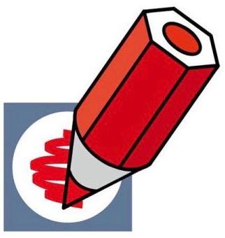 Afbeelding van een rood potlood dat een stemhokje op een stembiljet aankruist.
